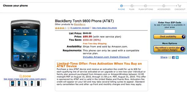 blackberry-torch-prices