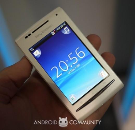 Sony ericsson xperia x8 android community.