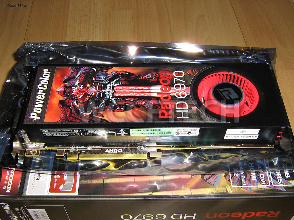 Amd Radeon Hd 6970 And Hd 6950 Official: PowerColor Radeon HD 6970 Pictured & Taken Apart