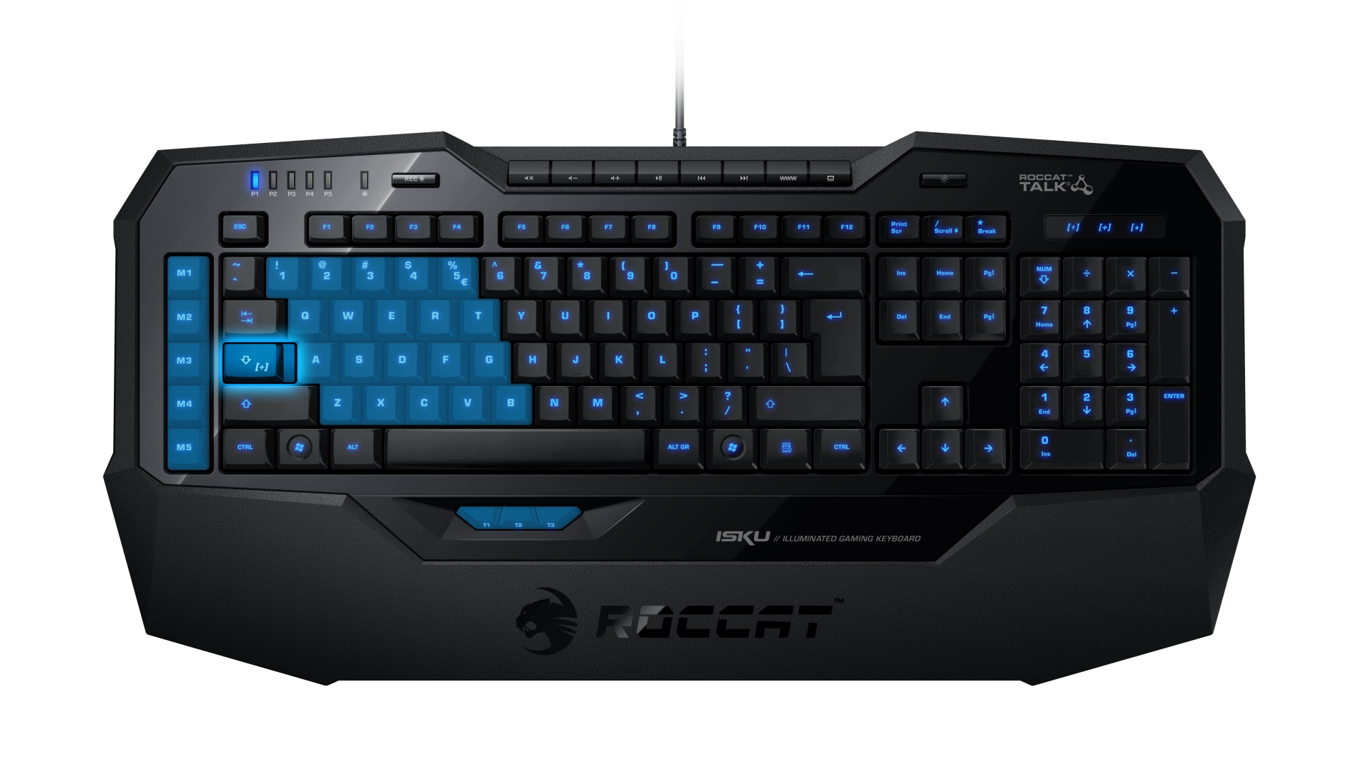 press release roccat isku illuminated gaming keyboard. Black Bedroom Furniture Sets. Home Design Ideas