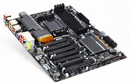 Best Mobo For Sli: Gigabyte's AM3+ (AMD 990FX) Motherboard Lineup Pictured