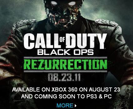 Black Ops: Rezurrection map pack revealed