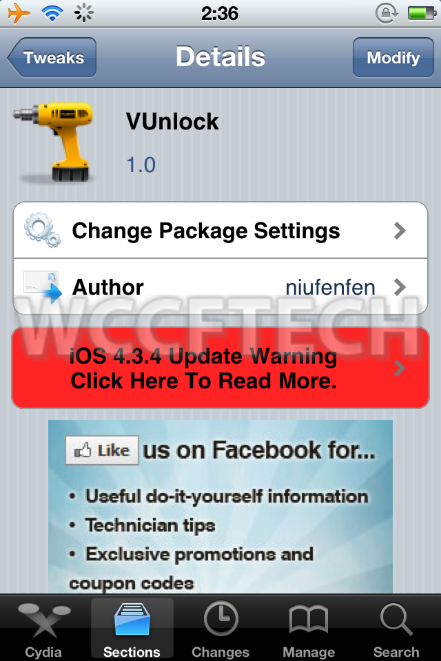 Unlock your iPod Touch / iPhone 4 using the volume button