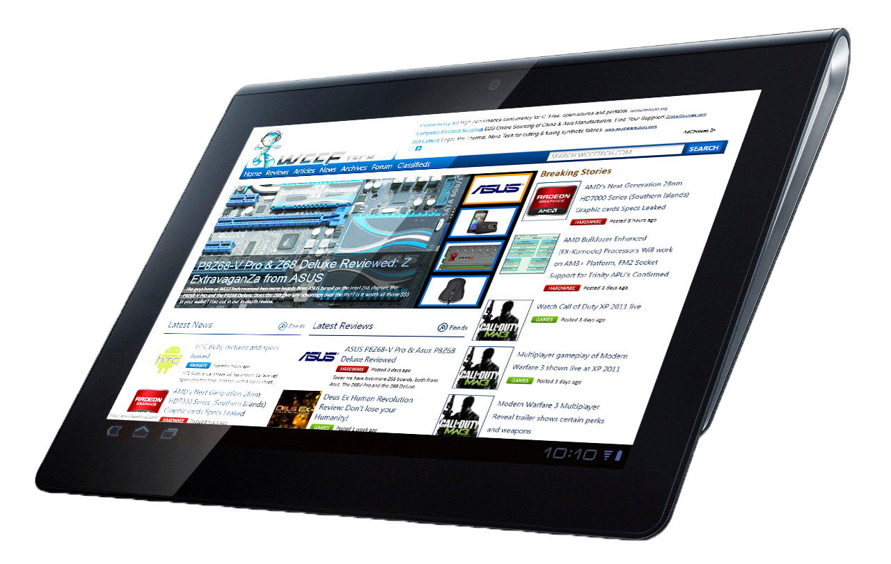 android running sony tablet s1 now available for pre order. Black Bedroom Furniture Sets. Home Design Ideas
