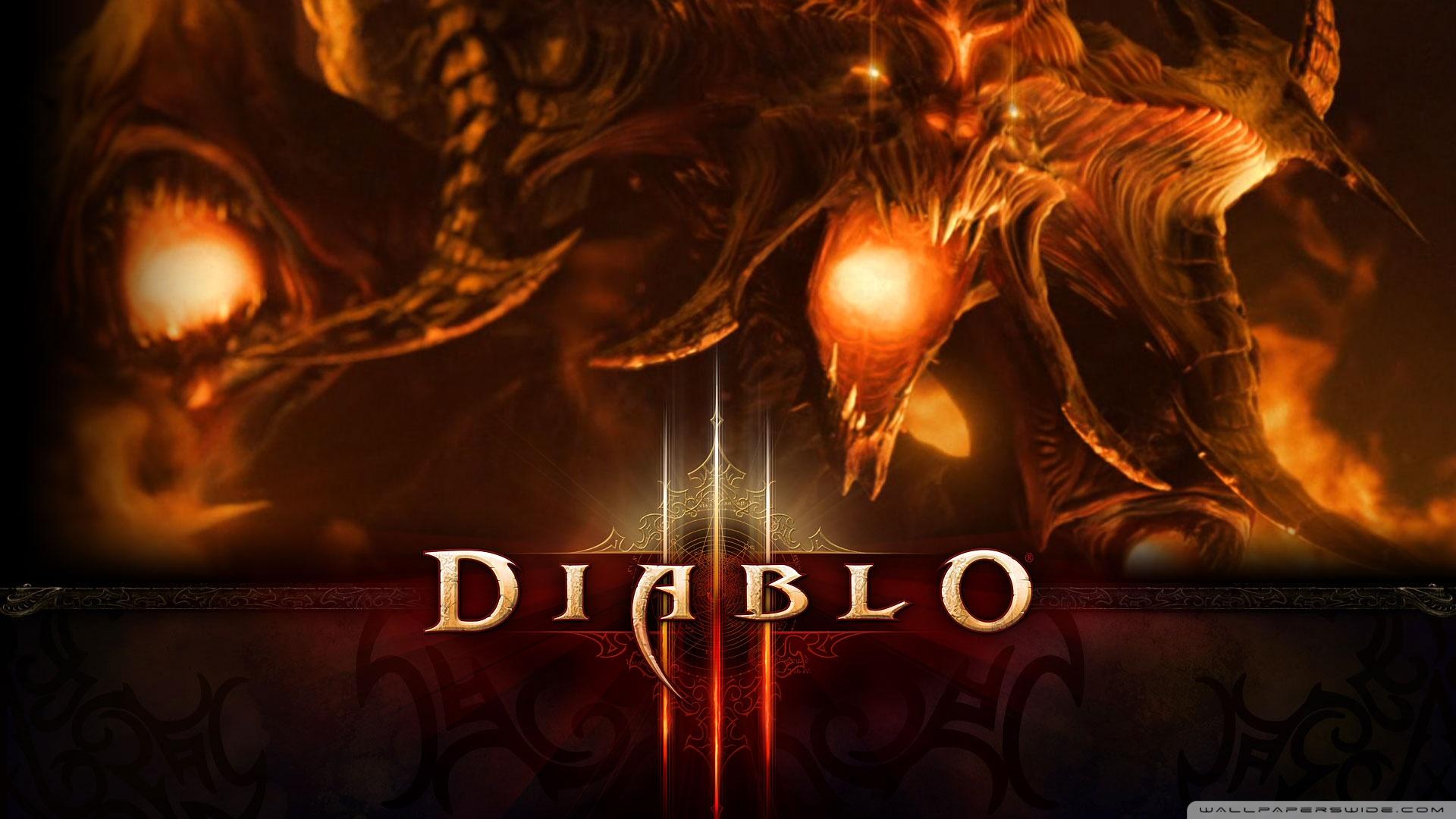 Diablo 3 Wallpaper 1920x1080: Diablo III Cinematic Shows Diablo Himself Rising From The