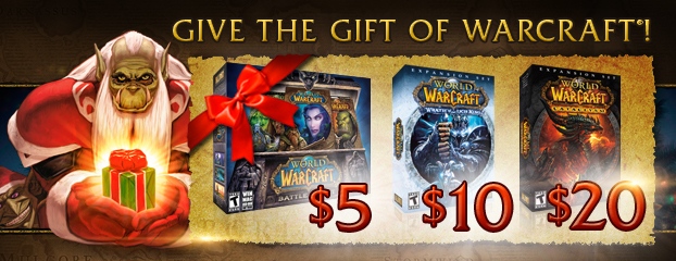 give the gift of world of warcraft for christmas - World Of Warcraft Christmas