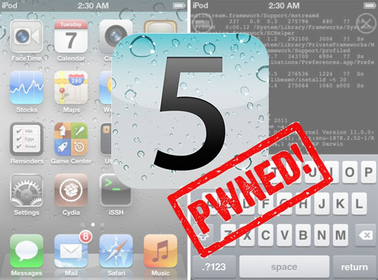 iOS 5.0.1 Untethered Jailbreak for iPhone, iPod and iPad ...