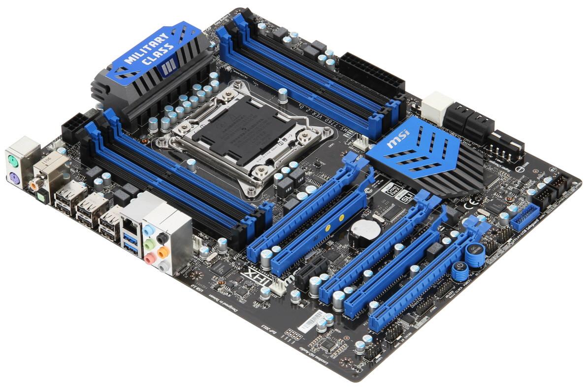 8 Memory Slot Motherboard MSI Announces X79A GD45 8D LGA2011 Features
