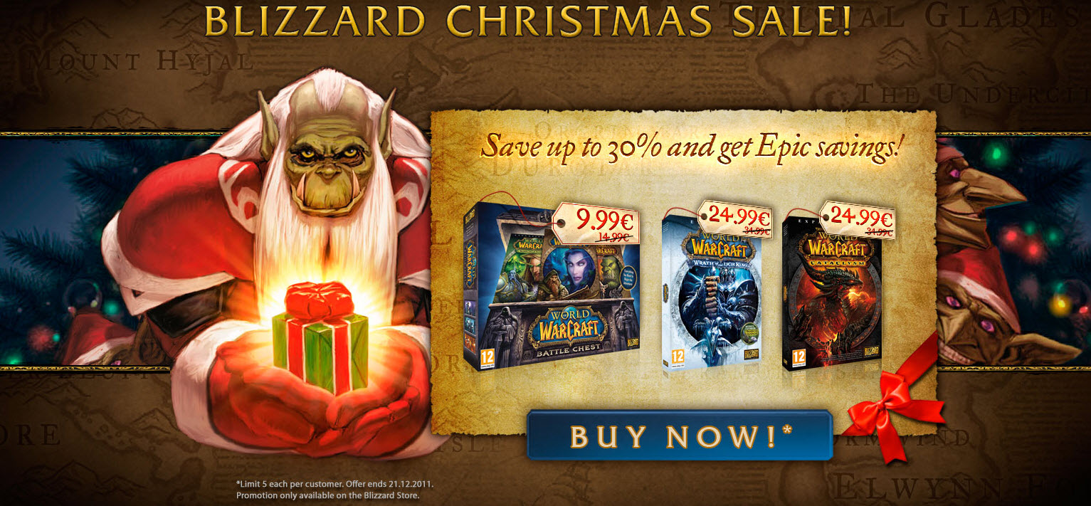 the - World Of Warcraft Christmas