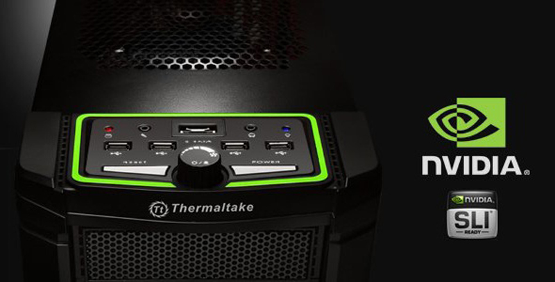 Thermaltake Element V Nvidia Edition Chassis Review With