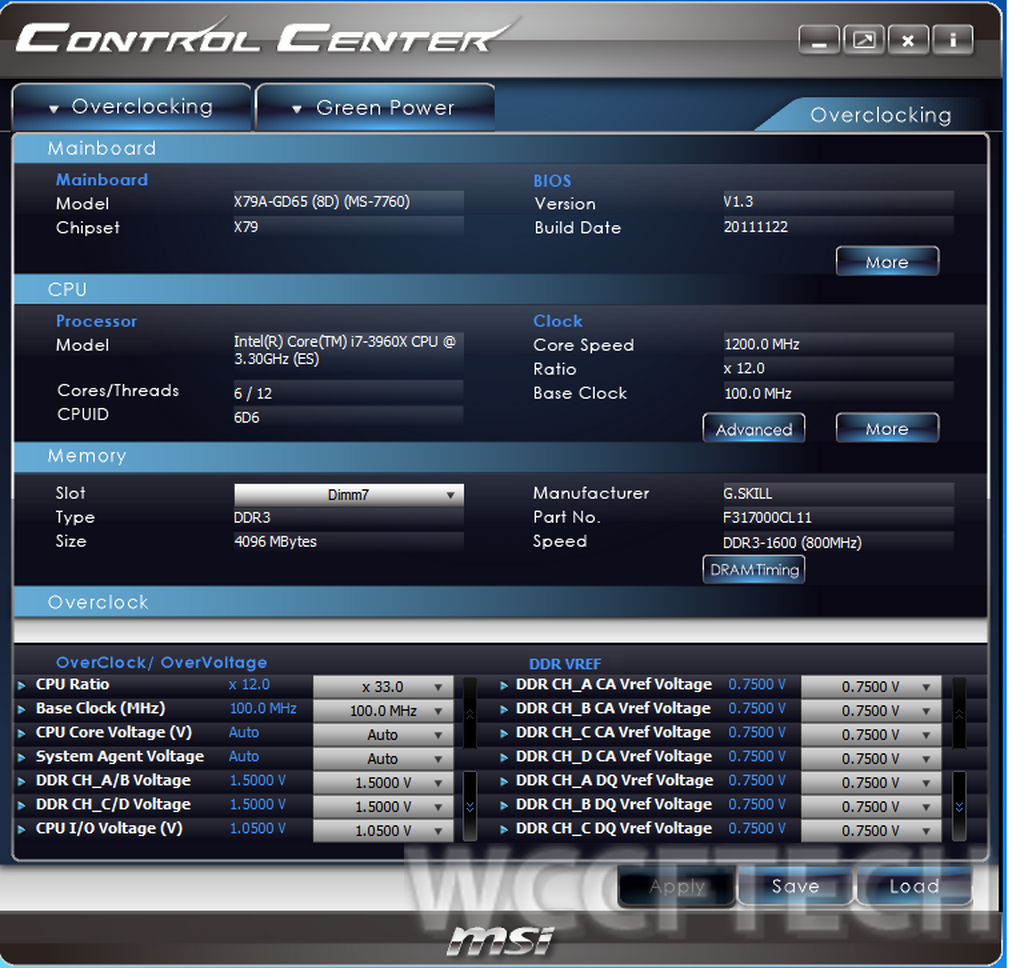 MSI X79A-GD65 CONTROL CENTER DRIVERS FOR WINDOWS 7