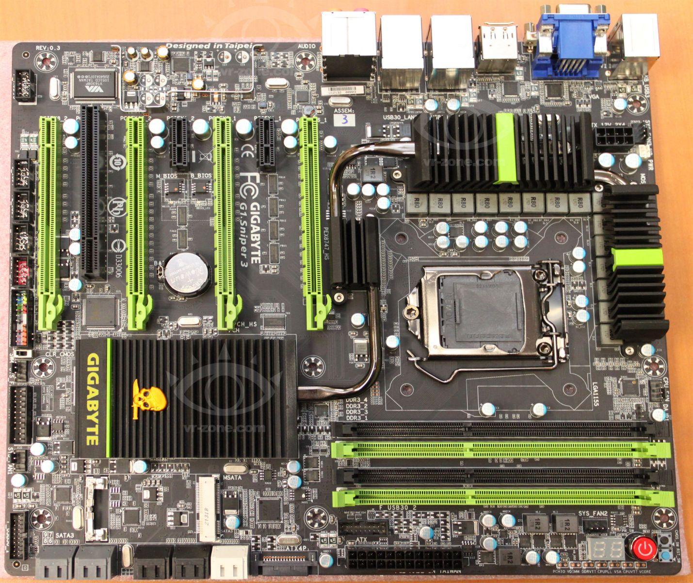 Several Gigabyte Z77 Chipset Based Motherboards Showoff