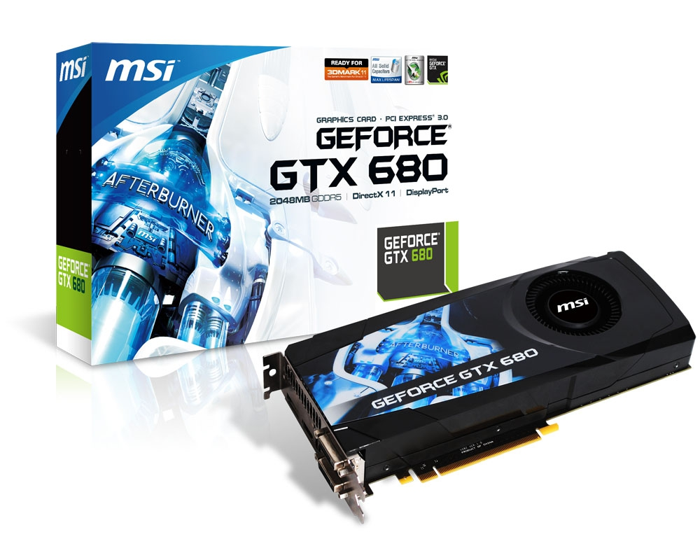 Msi Announces Geforce Gtx 680 Graphics Card With