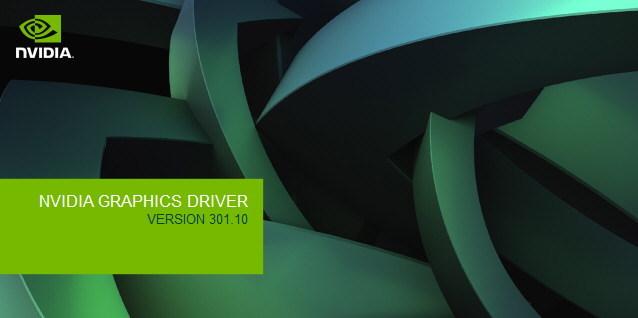 NVIDIA DRIVERS 301.10 TÉLÉCHARGER