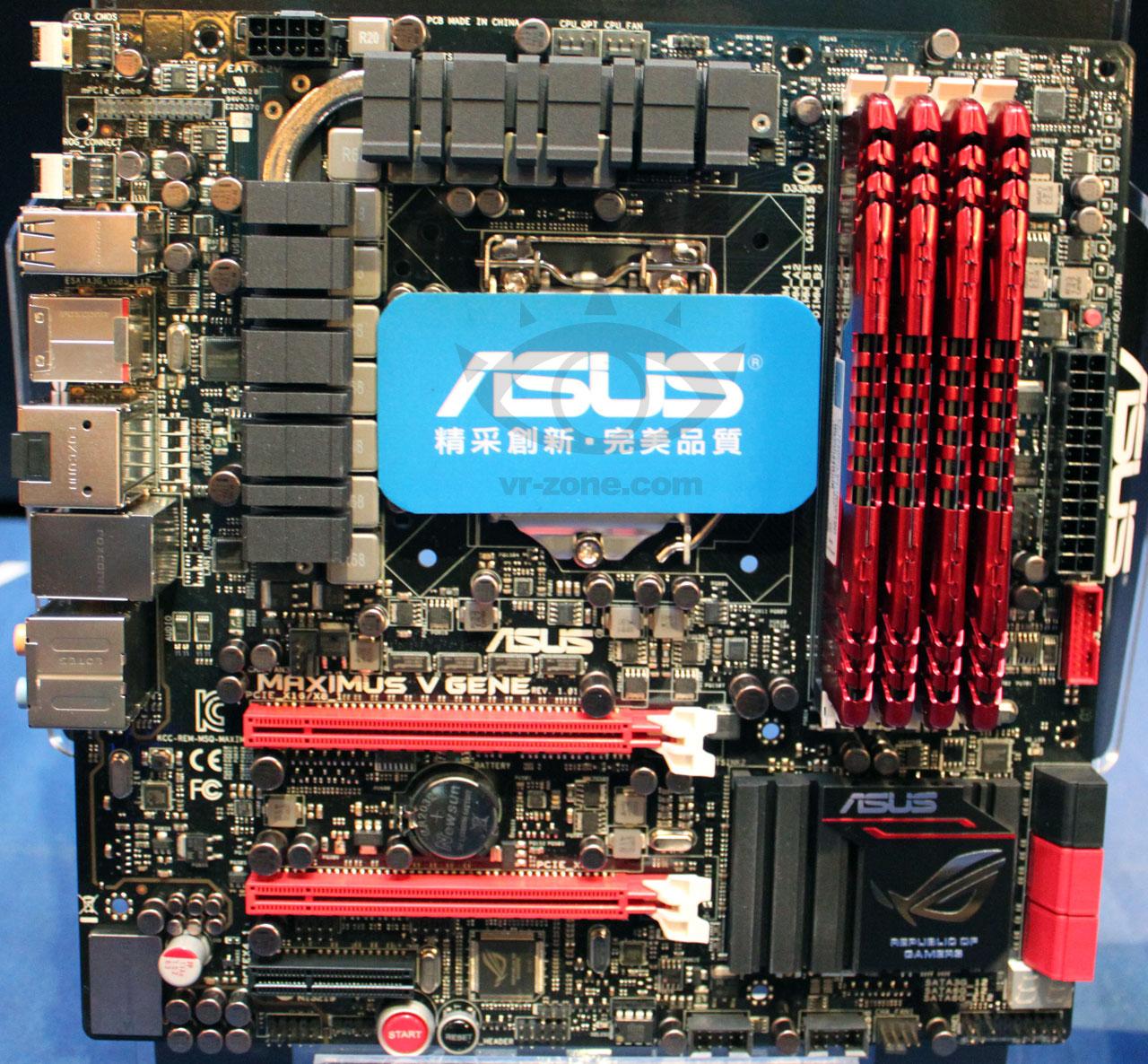 Asus Maximus V GENE Rapid Storage Descargar Controlador