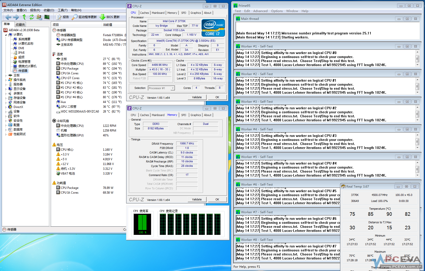 Intel's Ivy Bridge Core i7 3770K Overheating Issue Detailed