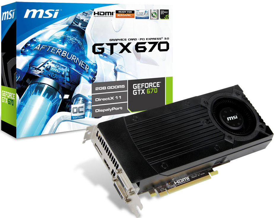 Msi announces the geforce gtx 670 with gpu overvoltage for Msi international