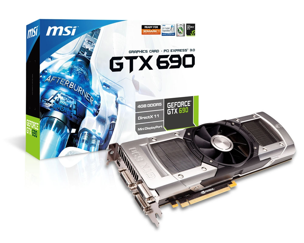 Msi announces geforce gtx 690 world 39 s fastest graphics card for Msi international