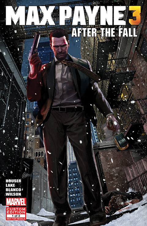 first issue of max payne 3 comics available for download for free