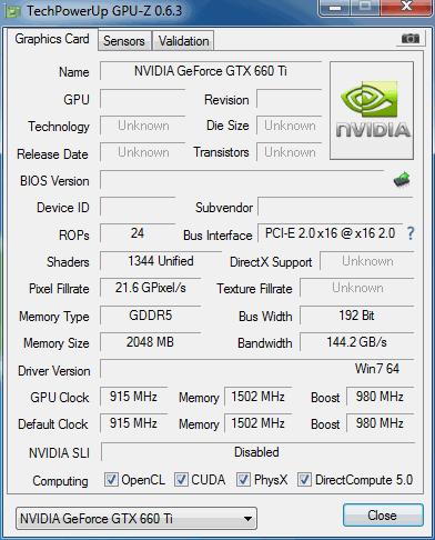geforce gtx 660 ti benchmark