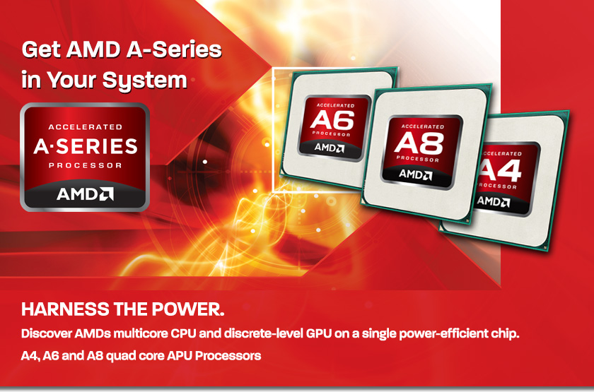 AMD A-Series Trinity APU's Pricing and Specifications Detailed