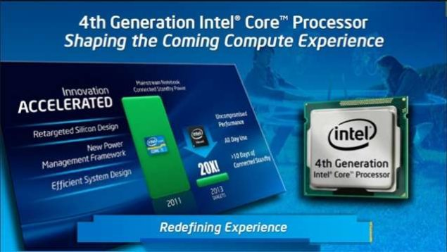 Intel 4th Generation Haswell