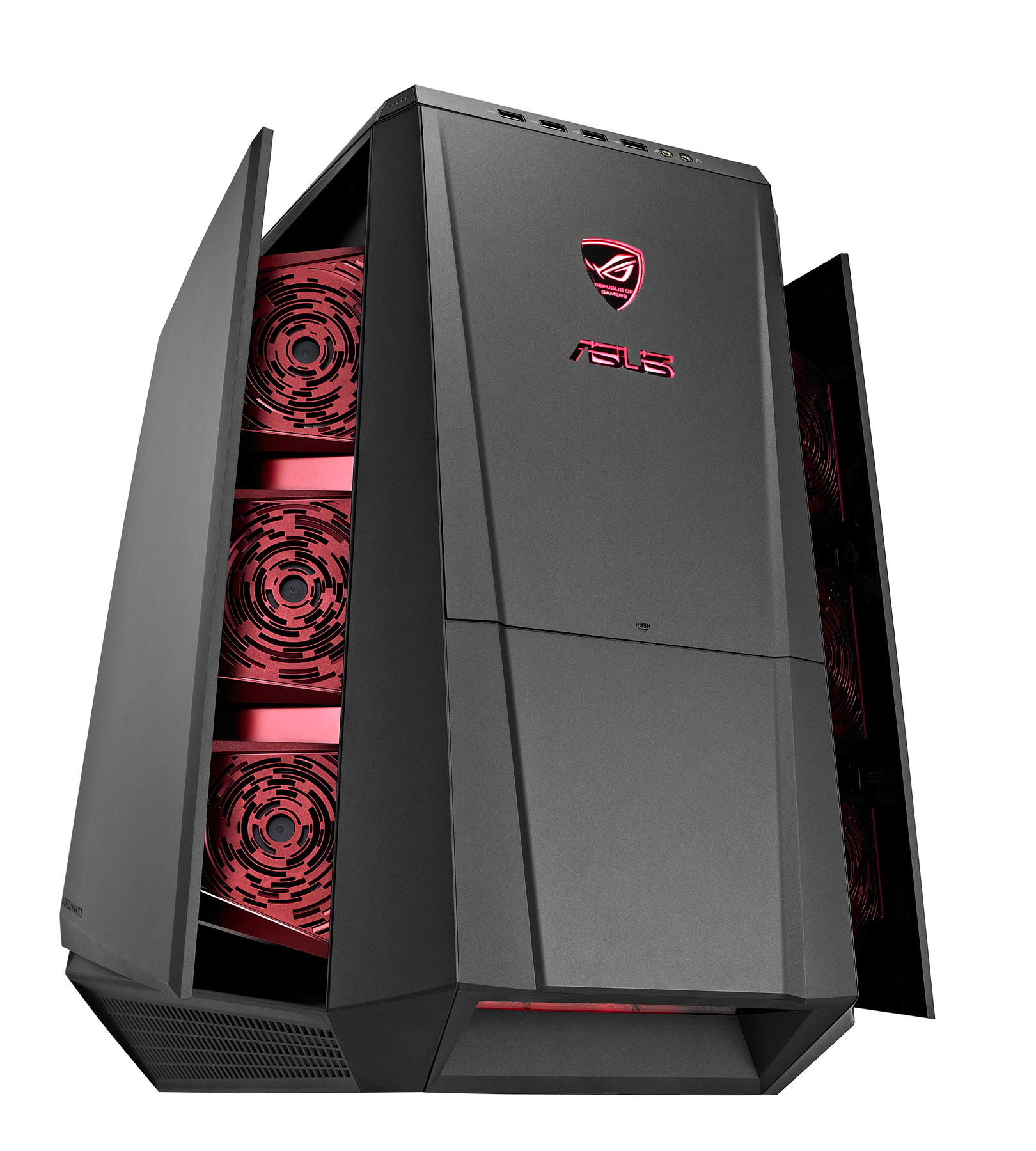 asus unveils the rog tytan cg8890 gaming desktop pc equipped with liquid cooled i7 3960x. Black Bedroom Furniture Sets. Home Design Ideas