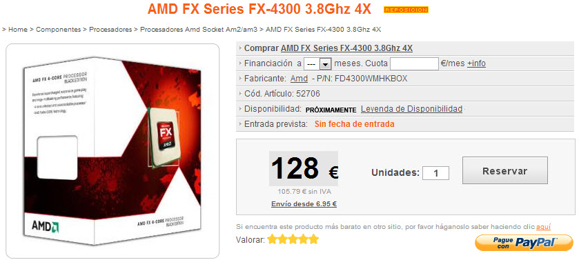Amd Fx Vishera Processors Listed