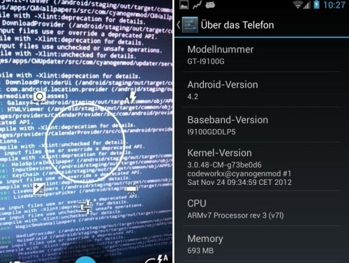 Download CyanogenMod 10 1 Android 4 2 JellyBean ROM For Galaxy S II
