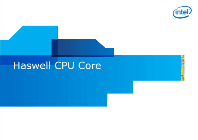 Intel Haswell CPU Desktop Mobile