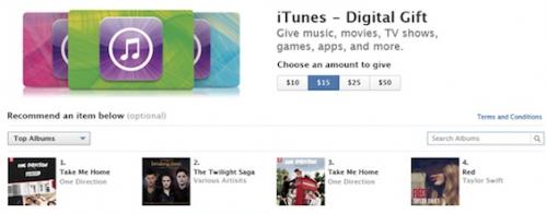 Buy iTunes Digital Gift Cards
