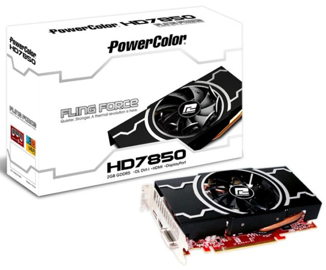 HD7850 Fling Force