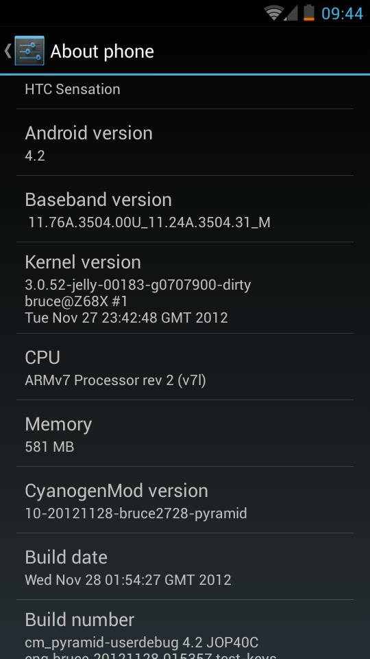 Android 421 jellybean cyanogenmod 101 available for htc for Unofficial jelly bean 4 2 1 available for htc one s and others