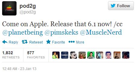 6.1 iOS release