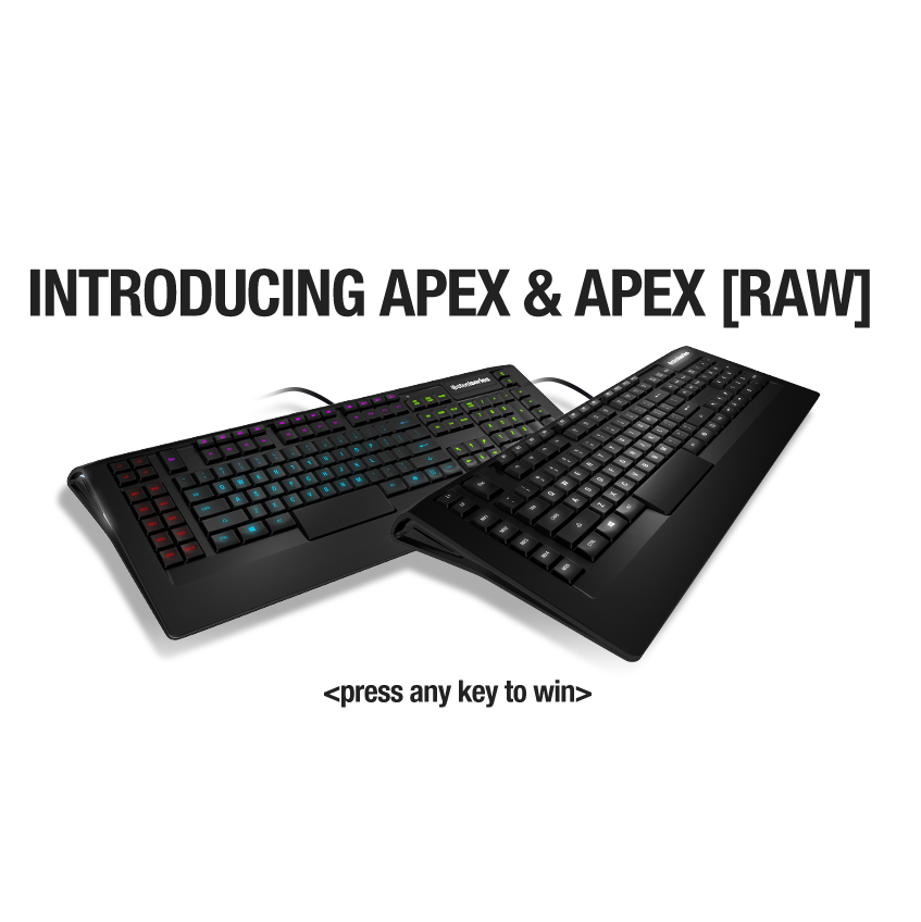 7f22c324eb1 SteelSeries Intros APEX AND APEX [RAW] Gaming Keyboards at CES 2013