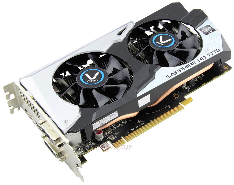 Pubg Radeon Hd 7770: Sapphire Launches Radeon HD 7770 Vapor-X Black Diamond