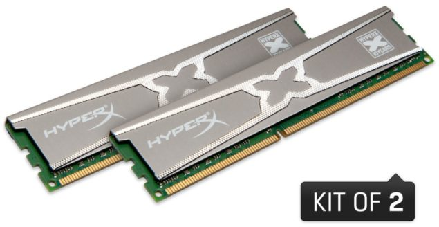 Kingston HyperX 10th Aniversary Modules