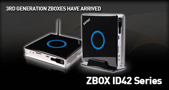 ZOTAC ZBOX ID42 DRIVER FOR PC