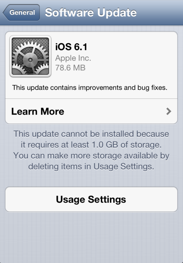 download iOS 6.1 firmware