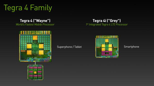 Tegra 4i Grey and Tegra 4 Wayne