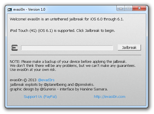 iOS 6.1.1 Untethered Jailbreak