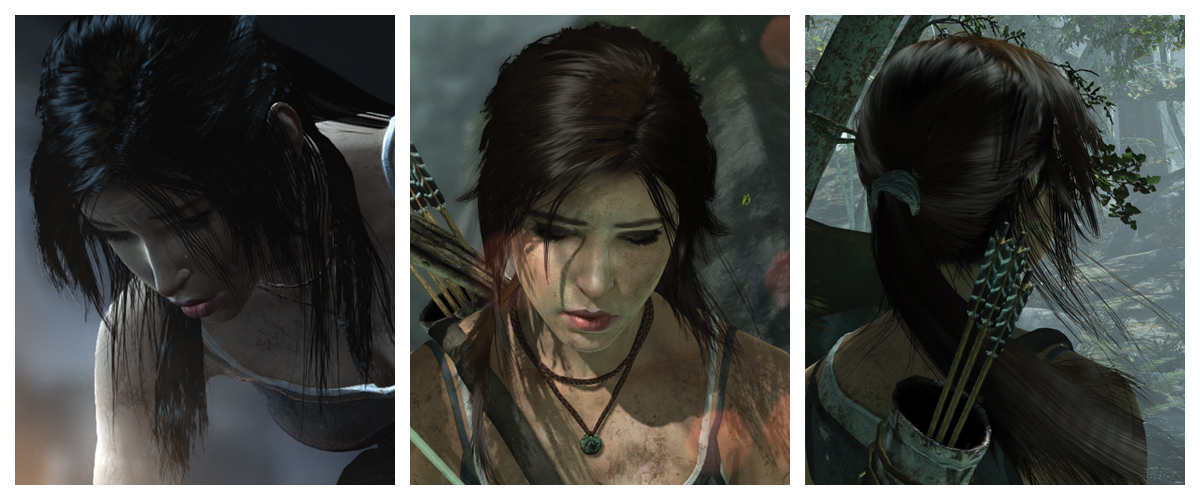 Amd Tressfx Hair Simulation Technology Brings Life To Lara Crofts