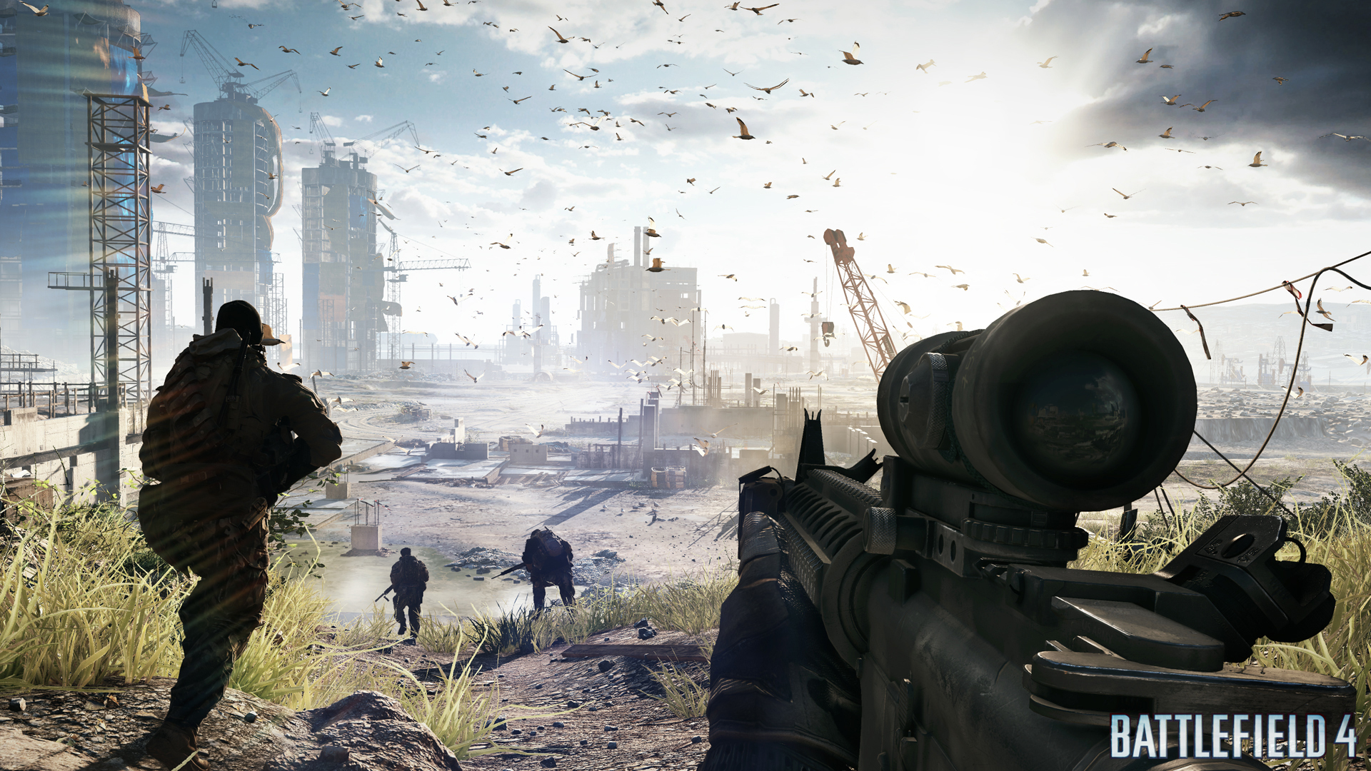 Dice Reveals Battlefield 4 Gameplay Trailer Released Powered By