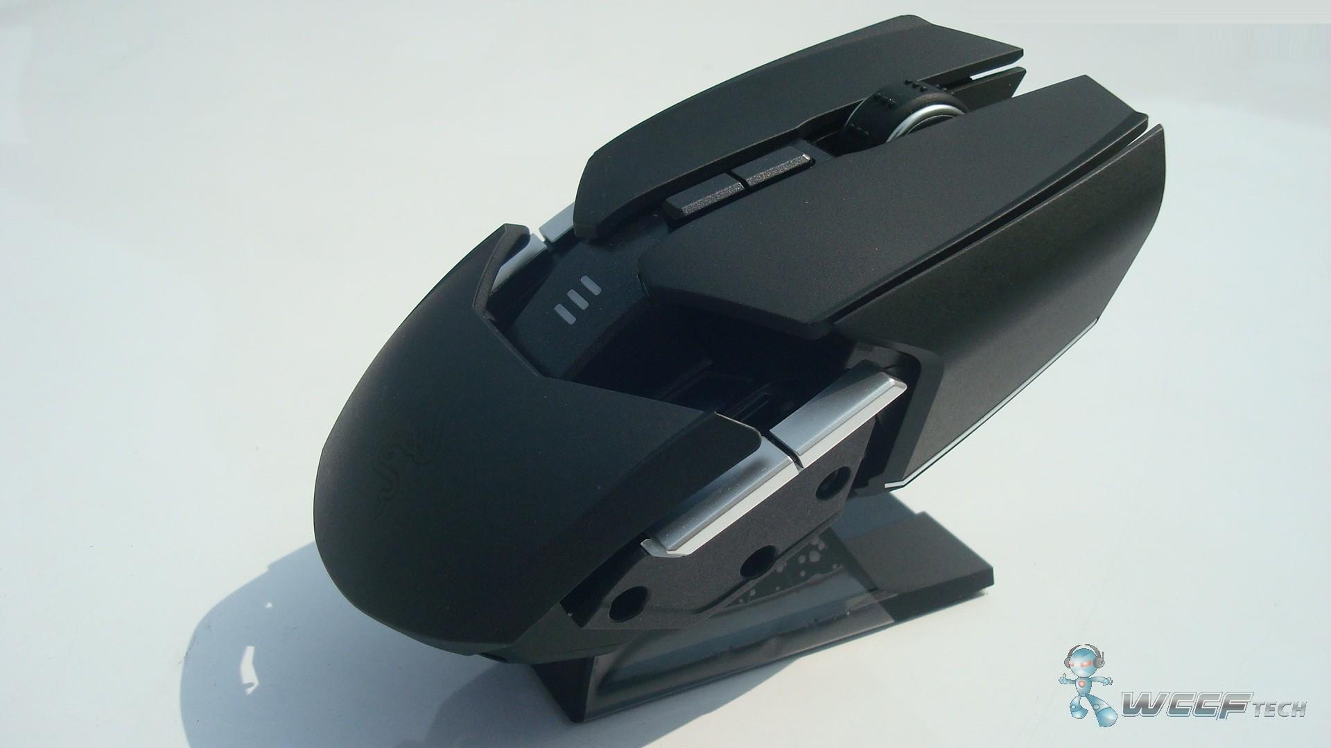 Razer Ouroboros Gaming Mouse Review Black 6 7