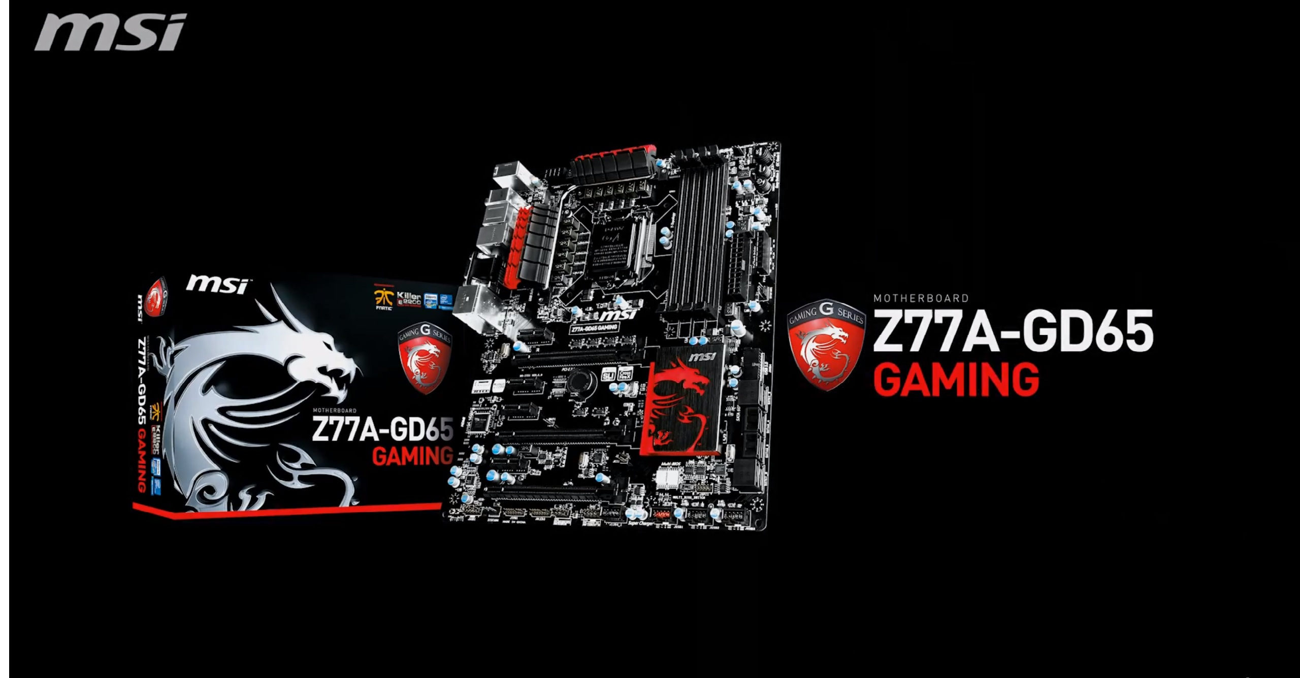 MSI Z77A GD65 Gaming