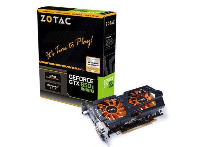 Zotac GTX 650 Ti Boost