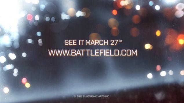 Battlefield 4 Reveal