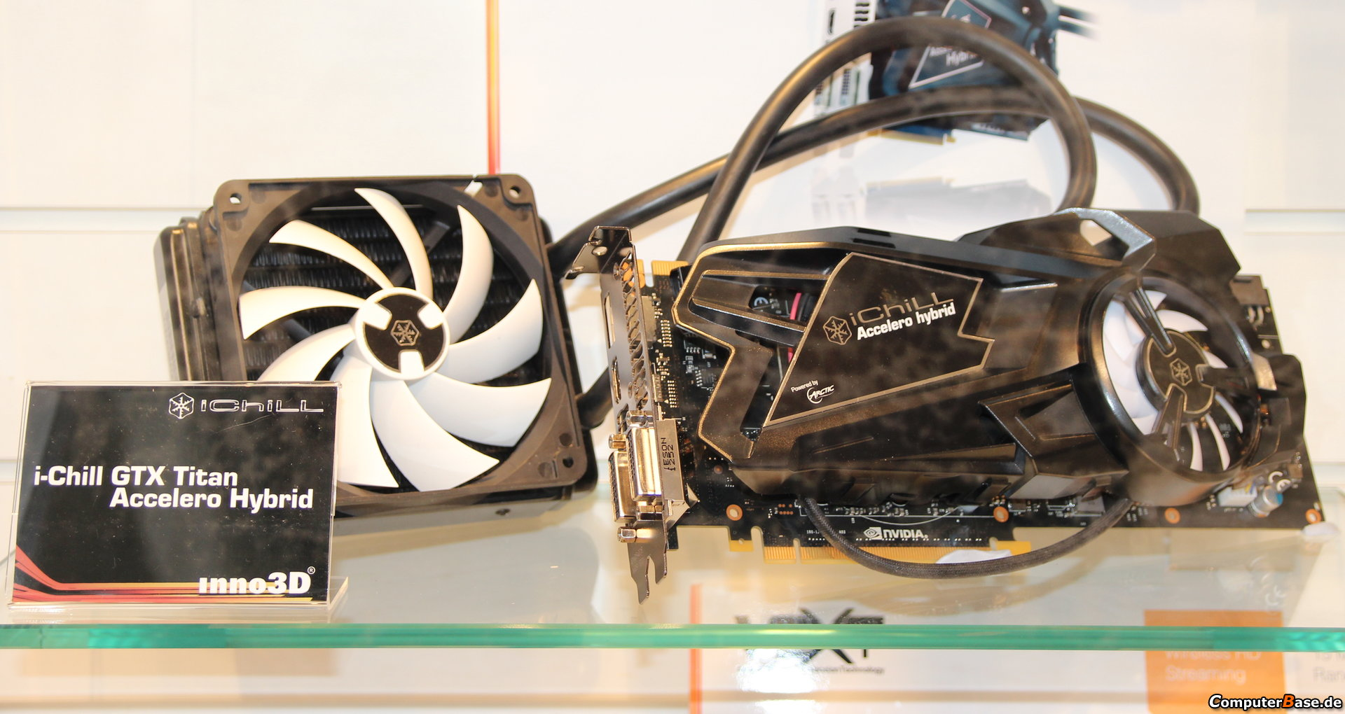 Inno3D Shows Off iChill GTX Titan Accelero Hybrid Liquid