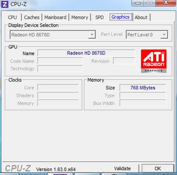 AMD HD 8670D
