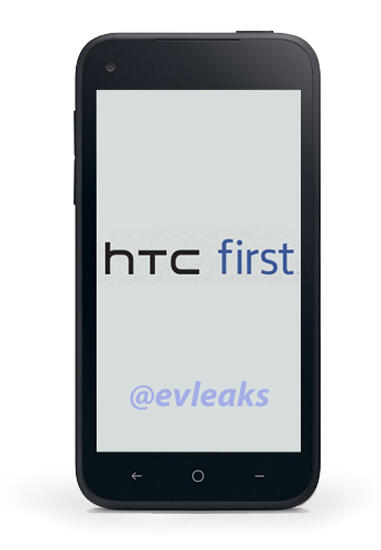 HTC First – Facebook Phone Image Leaked on the Web